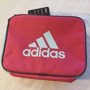 Adidas Lunch Tote Pink Blue